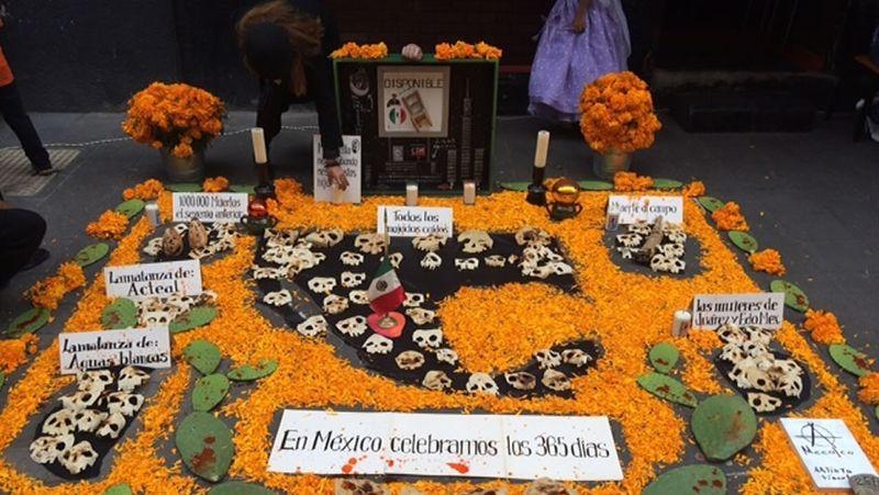 Altar de muertos cnn
